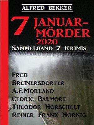 cover image of Sammelband 7 Krimis