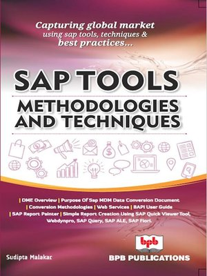 cover image of SAP Tools, Methodologies and Technique