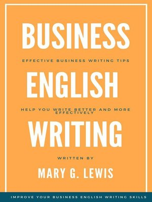cover image of Business English Writing