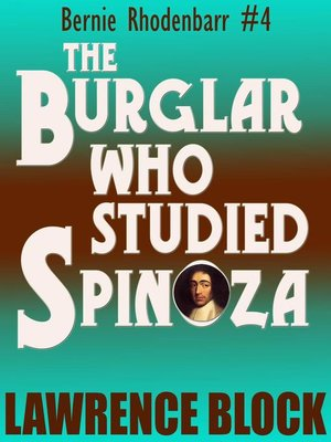 cover image of The Burglar Who Studied Spinoza