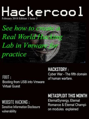 cover image of Hackercool Magazine Feb2018 Issue