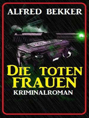 cover image of Die toten Frauen