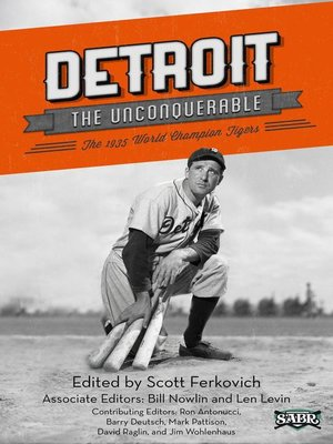 cover image of Detroit the Unconquerable