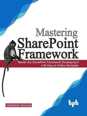 cover image of Mastering Sharepoint Framework