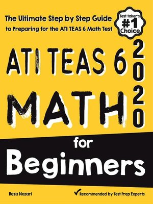 cover image of ATI TEAS 6 Math for Beginners