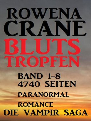 cover image of Blutstropfen Band 1-8