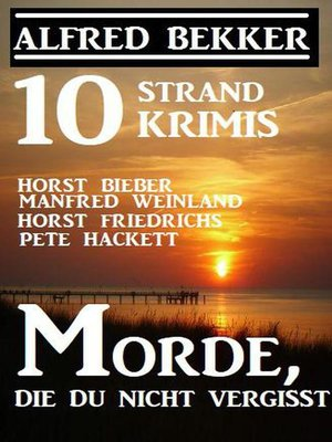 cover image of 10 Strand Krimis