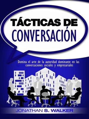 cover image of Tácticas de conversación