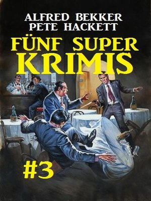 cover image of Fünf Super Krimis #3