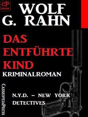cover image of Das enführte Kind
