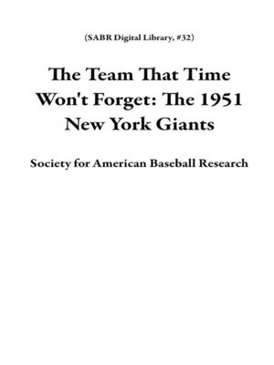 cover image of The Team That Time Won't Forget