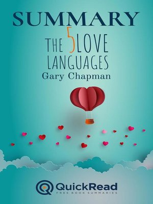 """cover image of Summary of """"The Five Love Languages"""" by Gary Chapman"""