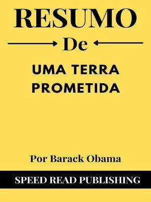 cover image of Resumo De Uma Terra Prometida Por Barack Obama