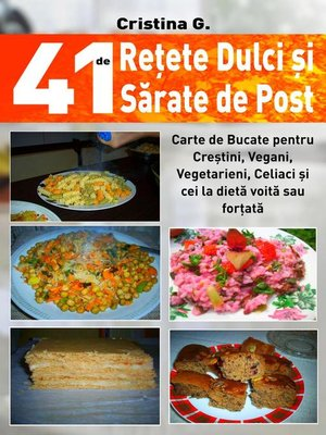 cover image of 41 de Retete Dulci si Sarate de Post