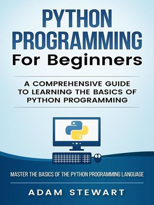 cover image of Python Programming for Beginners