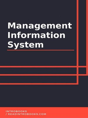 cover image of Management Information System