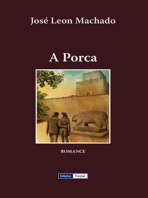 cover image of A Porca