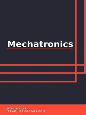 cover image of Mechatronics