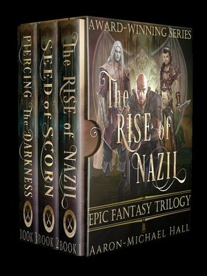 cover image of The Rise of Nazil Epic Fantasy Trilogy