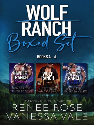 cover image of Wolf Ranch Books 4-6