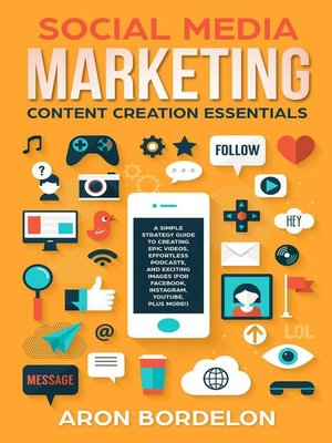cover image of Social Media Marketing Content Creation Essentials