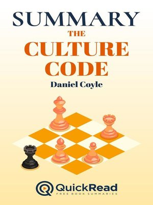 """cover image of Summary of """"The Culture Code"""" by Daniel Coyle"""
