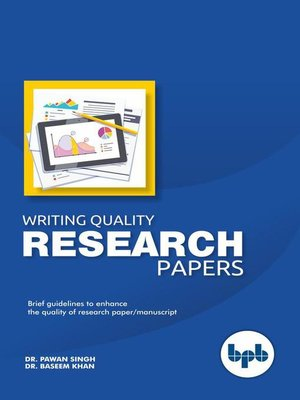 cover image of Writing Quality Research Papers