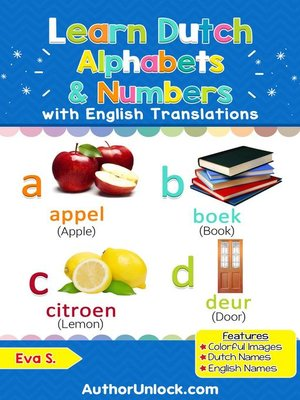 cover image of Learn Dutch Alphabets & Numbers