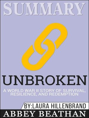 cover image of Summary of Unbroken