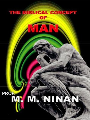 cover image of The Biblical Concept of Man