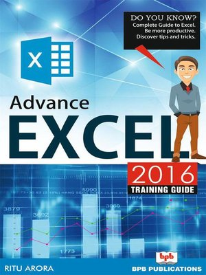 cover image of Advance Excel 2016