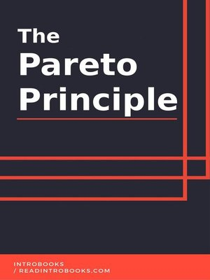 cover image of The Pareto Principle
