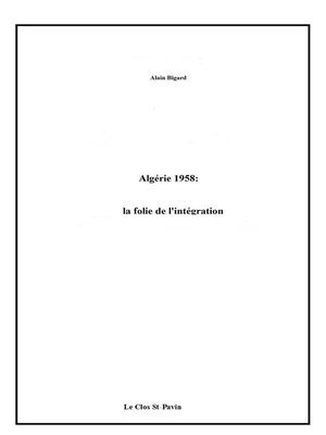cover image of Algérie 1958
