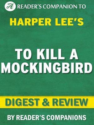 cover image of To Kill a Mockingbird