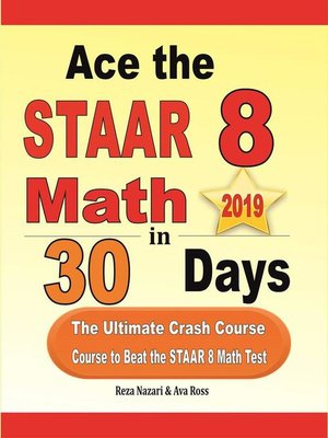 cover image of Ace the STAAR 8 Math in 30 Days