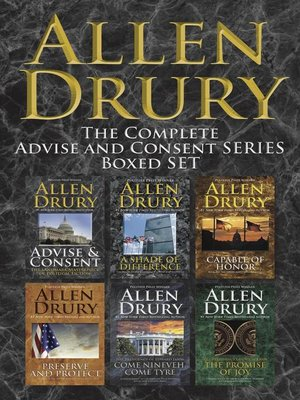 cover image of Advise and Consent Boxed Set