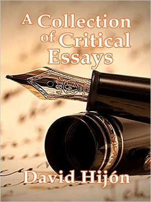 cover image of A Collection of Critical Essays