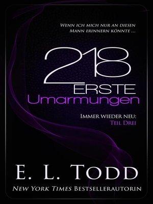 cover image of 218 Erste Umarmungen