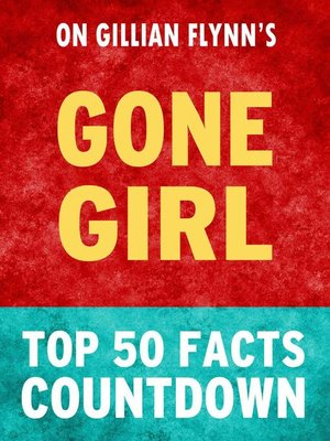 cover image of Gone Girl--Top 50 Facts Countdown