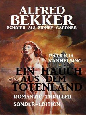 cover image of Patricia Vanhelsing--Ein Hauch aus dem Totenland