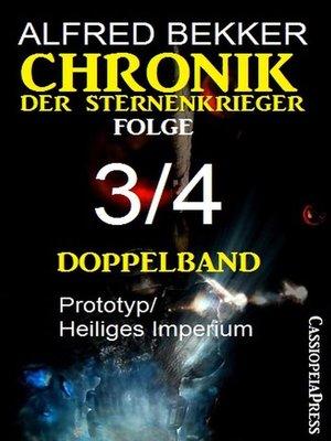 cover image of Chronik der Sternenkrieger Folge 3/4--Doppelband
