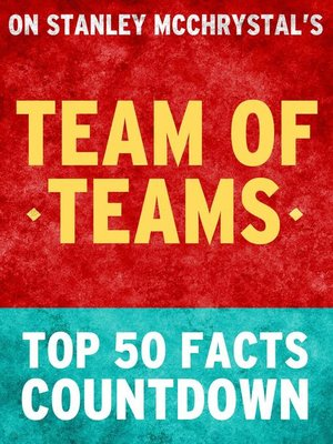 cover image of Team of Teams