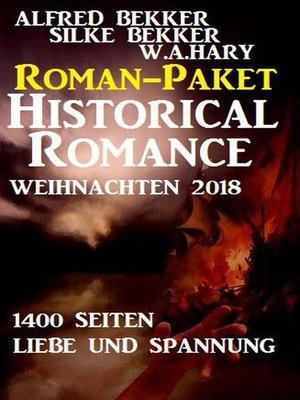 cover image of Roman-Paket Historical Romance Weihnachten 2018
