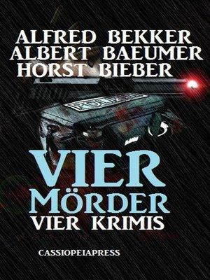 cover image of Bekker/Bieber--Vier Krimis