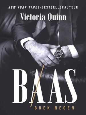 cover image of Baas Boek negen