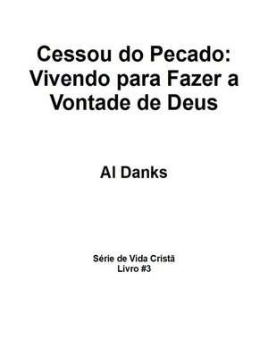 cover image of Cessou do Pecado