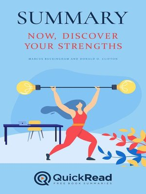 """cover image of Summary of """"Now, Discover Your Strengths"""" by Marcus Buckingham and Donald O. Clifton"""