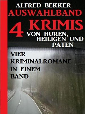 cover image of Auswahlband 4 Krimis