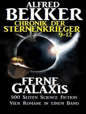 cover image of Alfred Bekker--Chronik der Sternenkrieger