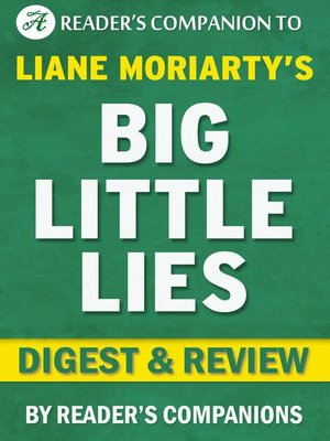 cover image of Big Little Lies by Liane Moriarty